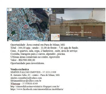 Fotos para Casa 4 dormitorios , ou area para investidores - centro