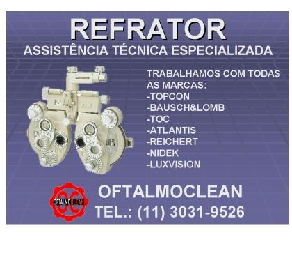 Fotos para Calibração e revisão para Refrator Greens Optico