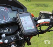 Fotos para Suporte Celular Prova Dagua guidão Moto Bike 7cm x 13cm