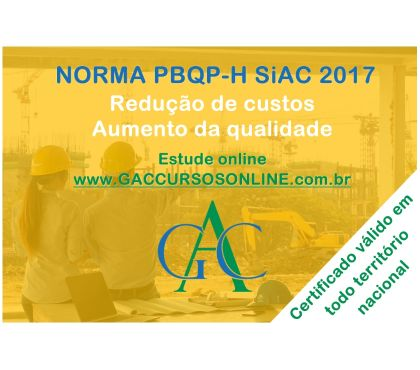 Fotos para Curso Online - Auditor Interno da Norma 45001:2018 - GAC