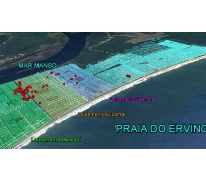 Fotos para Lotes na Praia do Ervino a partir de R$ 32.600,00