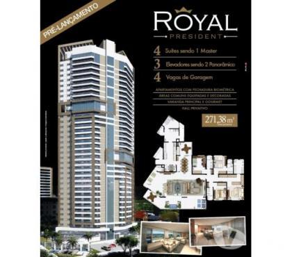 Fotos para Royal President Apartamento de alto padrão com 271m²
