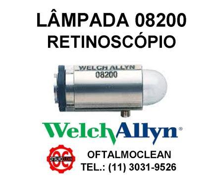 Fotos para Lâmpada Welch Allyn 08200 U - 3,5v