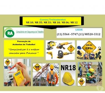 Fotos para Eldorado e Interlagos NR 10 -160,00 e NR 33- 130,00 Eldorado