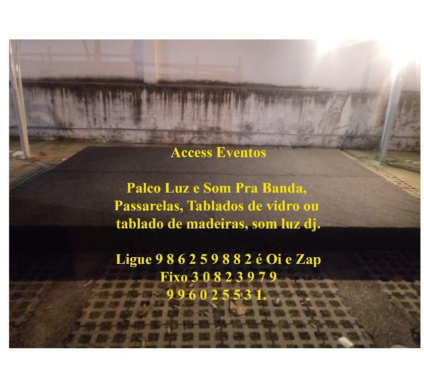 Fotos para Palco 6,60 x 3,20 Som de Banda 2 Mil pessoas. Promoç
