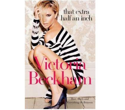 Fotos para Livro That Extra Half An Inch - Victoria Beckham Spice Girls