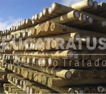 Fotos para EUCATRATUS - Mourão de Eucalipto Tratado em Autoclave