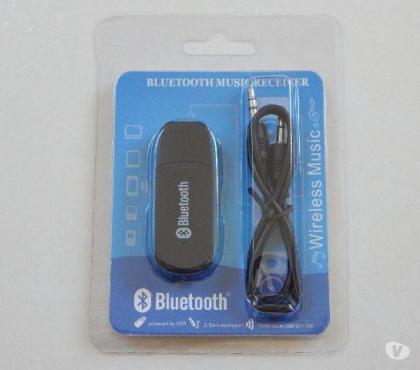 Receptor de Áudio Bluetooth Conector P2 Preto comprar usado  Natal RN