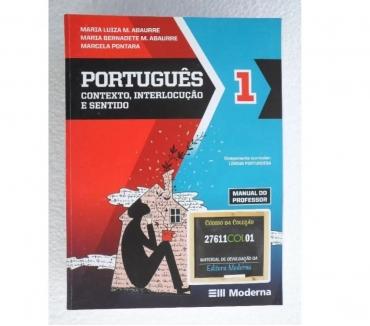 Fotos para Português - Contexto, Interlocução e Sentido - 3 Volumes