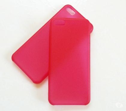 Fotos para Capa Case em SiliconeTPU Vermelho Iphone 5 5s