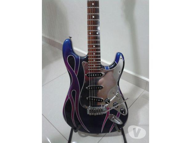 Fotos para Guitarra Strato de Luthier c/ Pintura Personalizada