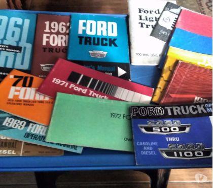 Fotos para Manual Ford Anos 61 a 74 Todas Versões e Modelos