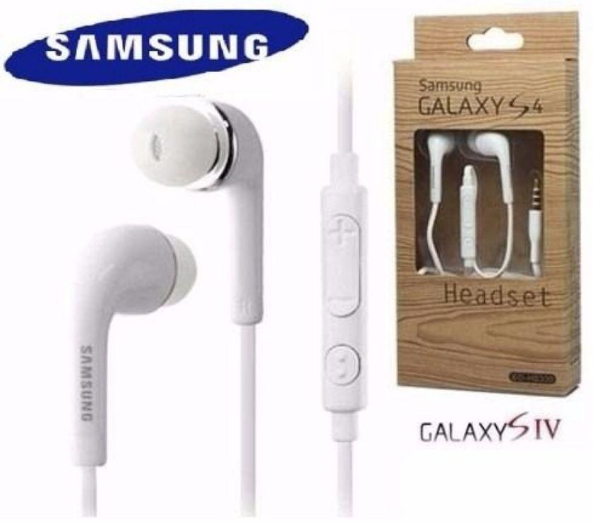 Fotos para Fone de Ouvido Headset Samsung Galaxy S3 S4 S5 Preto