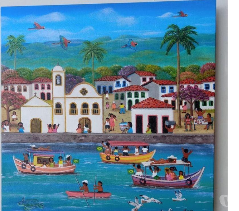 Artesanato Sao Paulo SP Sé, São Paulo - Fotos para ANA PINHO TELA MEDIDA 40X40
