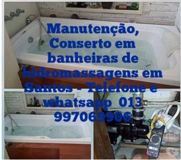 Fotos para Conserto e manutenção em banheira de hidromassagem em Santos