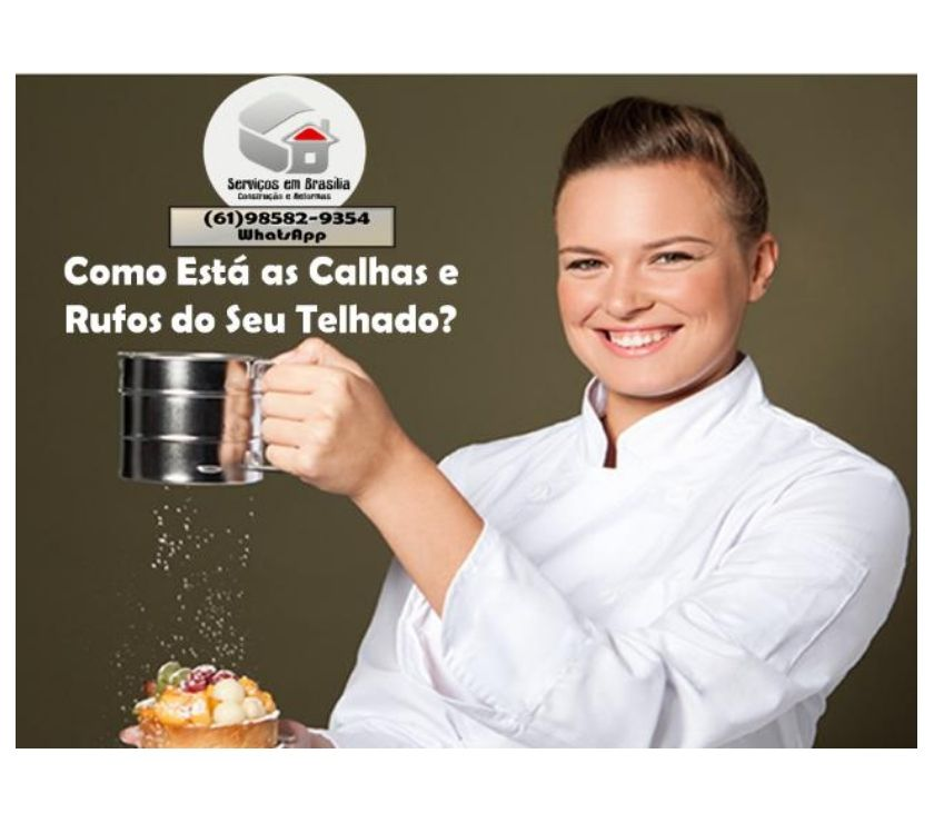 Fotos para Calhas, Rufos, Pingadeira, Reforma de Telha, Dutos, etc