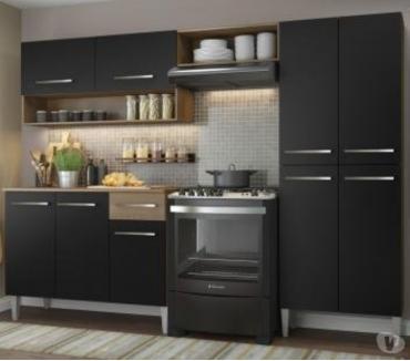 Fotos para Cozinha Compacta Madesa Emilly Com Armário e Balcão