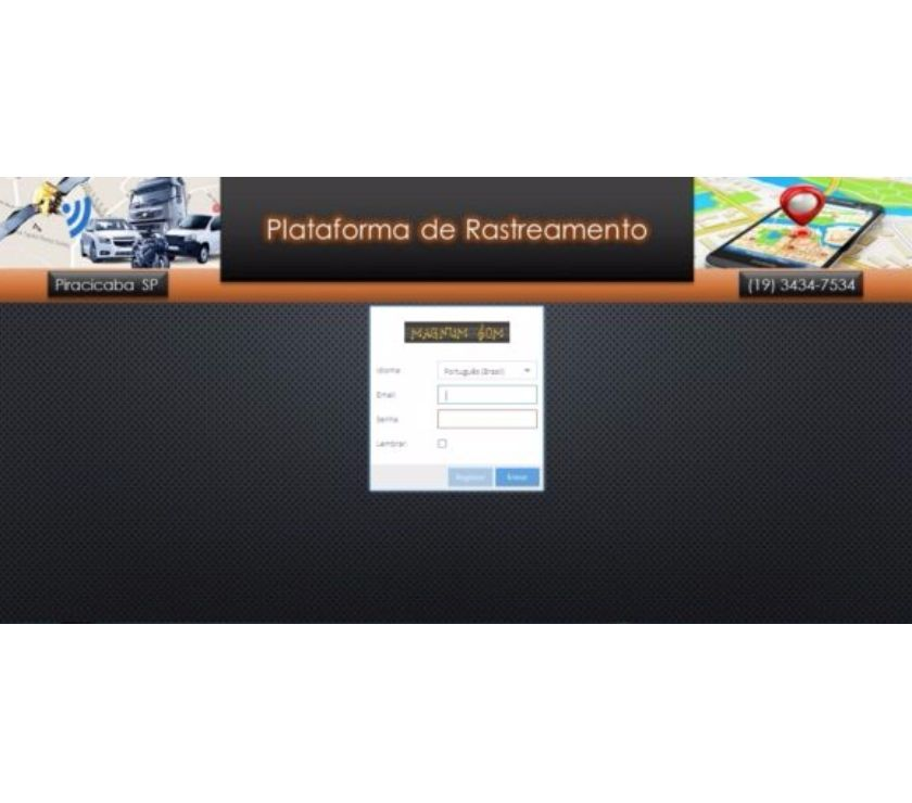 Fotos para Plataforma de Rastreamento Automotivo.