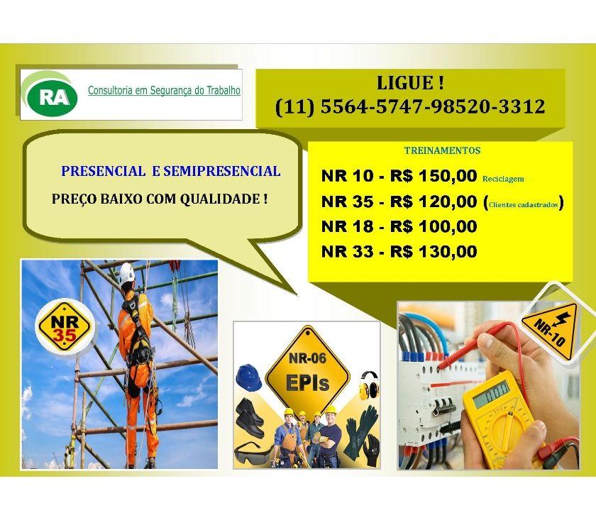Fotos para Cursos NR-10, NR-20, NR-33, NR-35 Santo Amaro Zona Sul SP