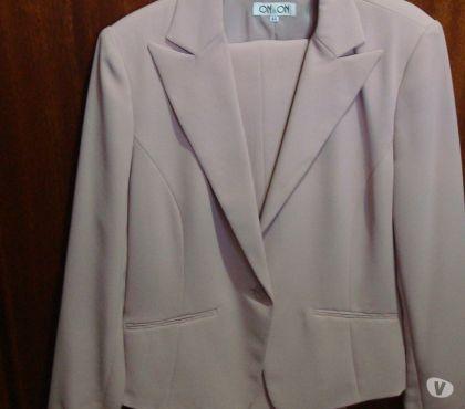 Fotos para Vendo Cjto de blazer e calça microfibra salmão nº 44, novo