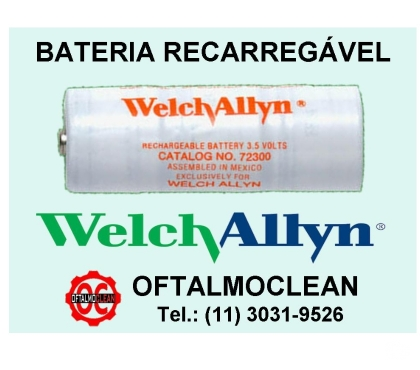 Fotos para Bateria recarregável 72300 Welch Allyn