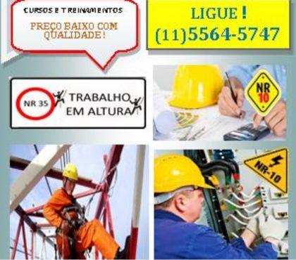 Fotos para Bom Preços Cursos NR-10, NR-33, NR-35 Zona Sul SP Morumbi SP