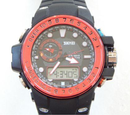 Fotos para Relógio Militar Skmei 104002 Vermelho