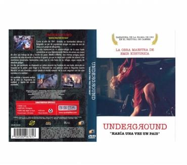 Fotos para Dvd Underground - Era uma vez um país