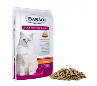 Fotos para Ração Barão Premium Gato Carne - 25 kg - Sem Corantes