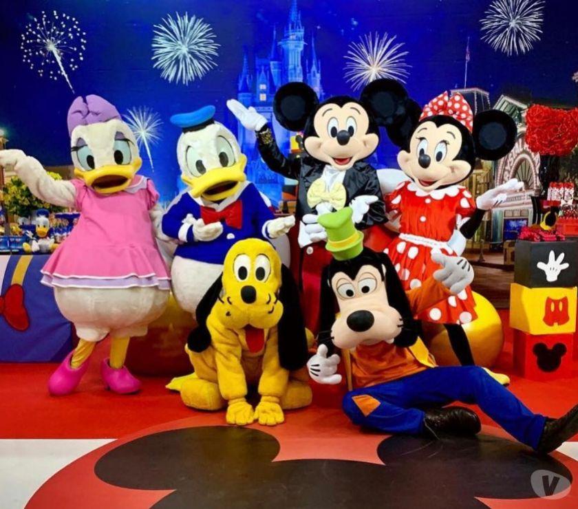 Serviços para eventos Belo Horizonte MG Buritis, Belo Horizonte - Fotos para Mickey e Minnie Para Festa Infantil BH e Regiao