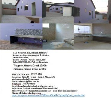Fotos para Casa 3 quartos - Oportunidade - Para de Minas, Mg