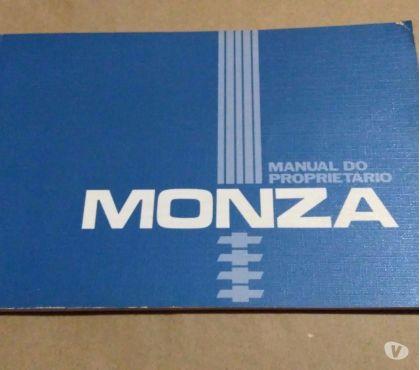 Fotos para Manual Em Branco Monza Proprietário Original