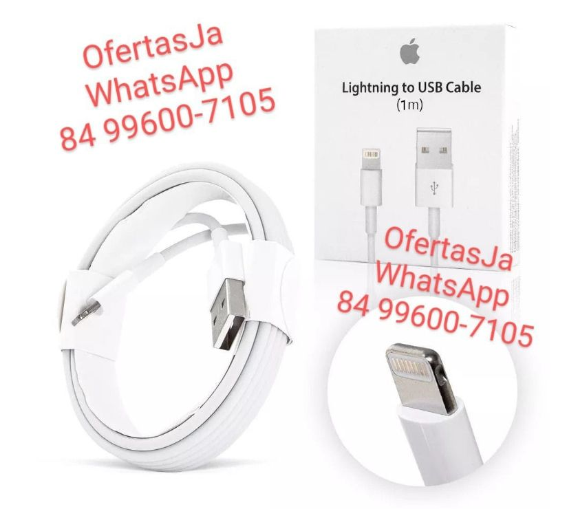 Celular Usado Parnamirime RN - Fotos para Cabo USB Iphone Lightning 1 metro - Carregador Dados