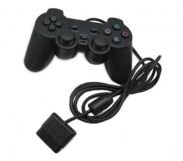 Fotos para Manete Com Fio PS2 Controle Joystick Playstation 2 Analógico