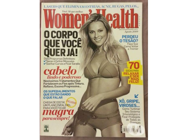 Fotos para 15 revistas Women's Health excelente estado