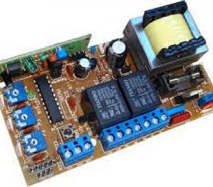 Fotos para reparo e troca de peças de circuito de portão automatico