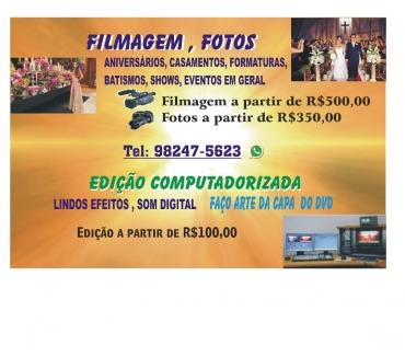 Fotos para Filmagem