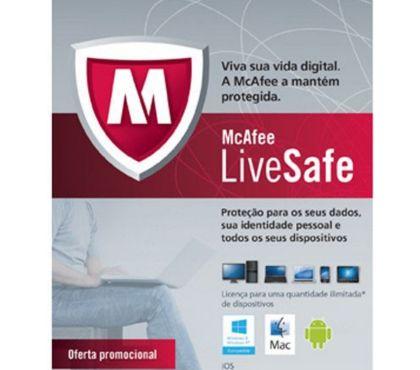 Fotos para Antivírus Intel McAfee Security LiveSafe