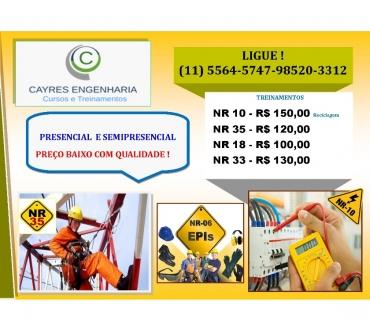 Fotos para Cotia - Cursos e treinamentos NR 10 reciclagem R$ 150,00