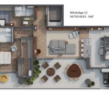 Fotos para H.I Pinheiros – Apartamentos construtora Setin - Plantas