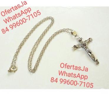 Fotos para Colar & Crucifixo em Aço Inoxidável 316L