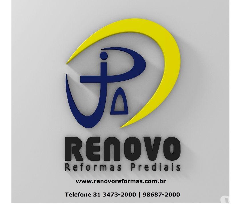 Reparo - Conserto - Reforma Belo Horizonte MG Noroeste - Fotos para Limpeza de Fachada Reforma Predial em Coração Eucarístico BH