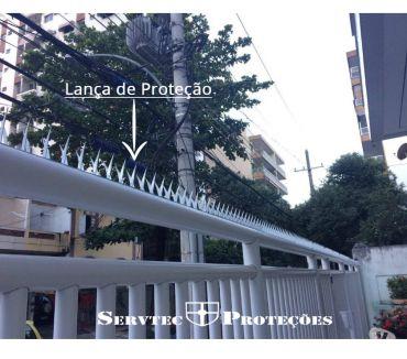 Fotos para Lança de muro em aço galvanizado