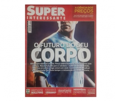 Fotos para Revista Super Interessante capa futuro do corpo ed. 2942011