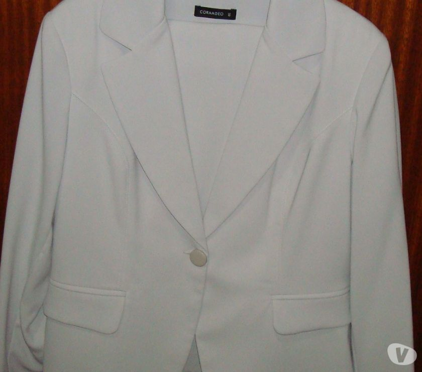 Fotos para Vendo Cjto de blazer e calça em microfibra gelo nº 46, novo