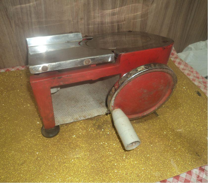 Fotos para maguina cortador mortandela sao metal manual