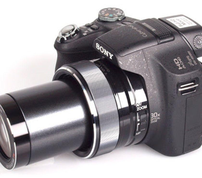 Fotos para CÂMERA SONY HX 100 V 16 MEGA PIXEL