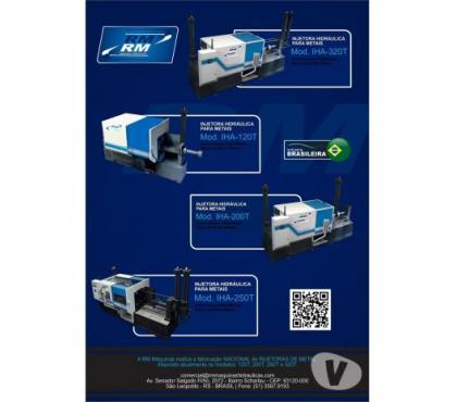 Fotos para Injetora hidraulica Câmara Fria - para Alumínio e Latão