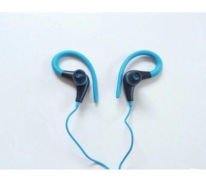 Fotos para Fone Ouvido Esportivo Intra Auricular Com Microfone Azul 002