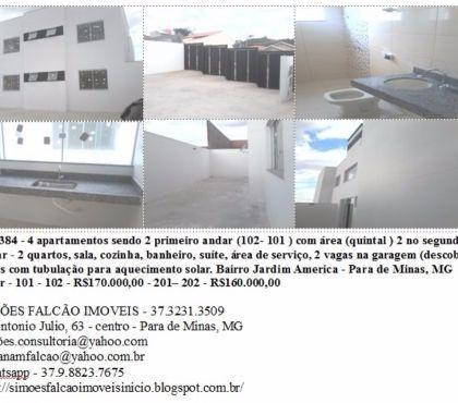 Fotos para Apartamento 2 dormitórios, 2 vagas na garagem